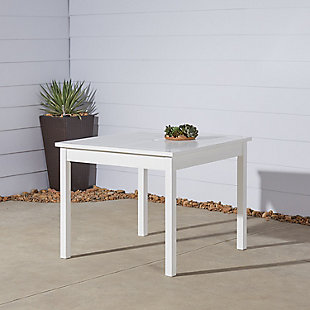 Vifah Bradley Outdoor Stacking Table, , large