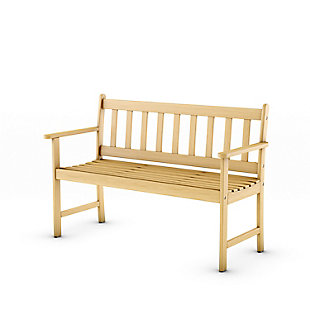Amazonia Teak Finish Bench, , large