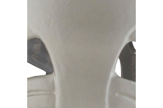 Modern Brinnon 13 x 13 x 18 Stool, Gray, large