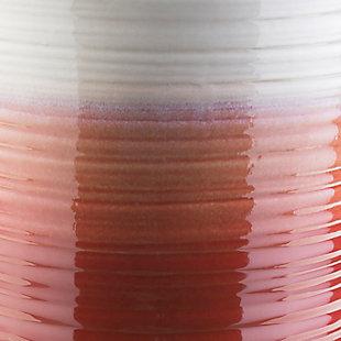 Waverly Waverly 12.8 X 12.8 X 18.1 Stool, Red/White, large