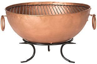Safavieh Bangkok Fire Pit, , large