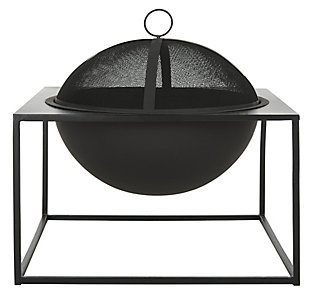 Safavieh Leros Square Fire Pit, , large