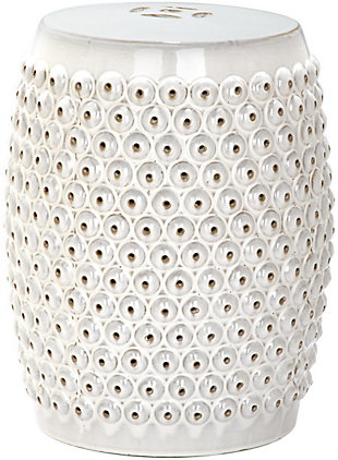 Safavieh Stella Nail Head Stool, , large