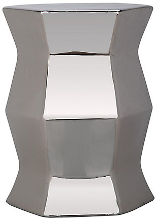 Safavieh Modern Hexagon Garden Stool, , rollover