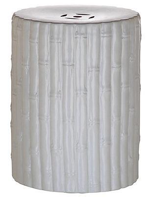 Safavieh Bamboo Garden Stool, , large