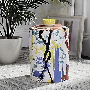 Safavieh Kes Multicolor Garden Stool, , rollover