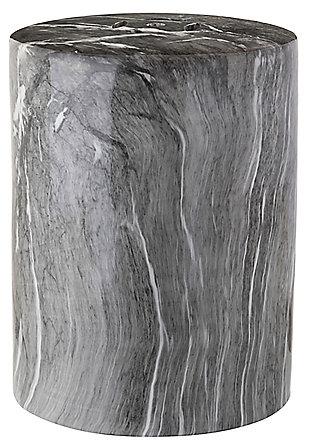 Safavieh Forster Marble Garden Stool, , large