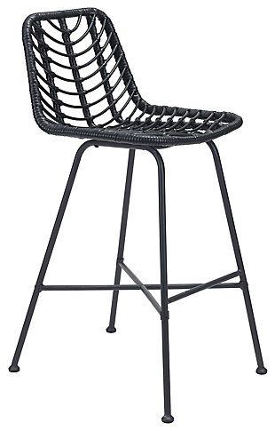 Zuo Modern Malaga Bar Chair, , large