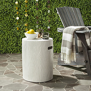 Safavieh Trunk Indoor/Outdoor Modern Concrete Accent Table, , large
