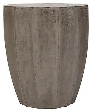 Safavieh Jaslyn Indoor/Outdoor Modern Concrete Accent Table, , large