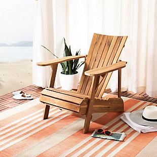 Safavieh Merlin Adirondack Chair, , rollover