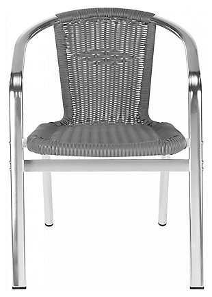 Safavieh Wrangell Indoor/Outdoor Stacking Armchair (Set of 2), , large