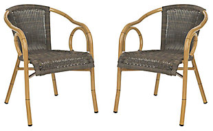 Safavieh Dagny Arm Chair (Set of 2), , large