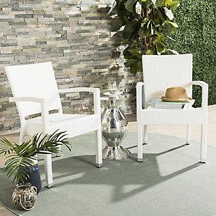 Safavieh Kelda Stacking Arm Chair (Set of 2), , rollover