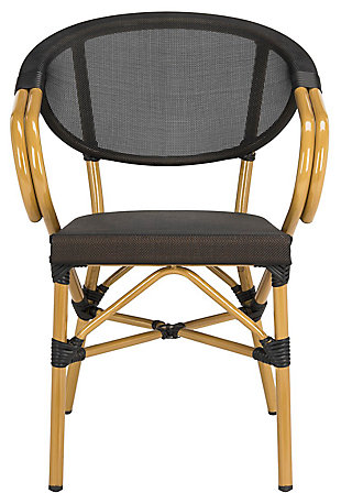 Safavieh Burke Stacking Arm Chair (Set of 2), , large