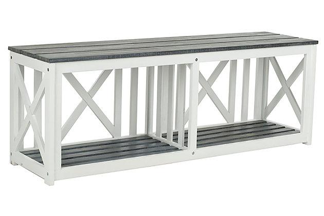 Safavieh Outdoor Branco Bench Ashley Furniture Homestore