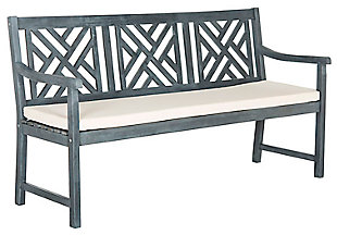 Safavieh Bradbury 3 Seat Bench, , large
