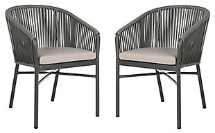 Safavieh Matteo Stackable Rope Chair (Set of 2), , large