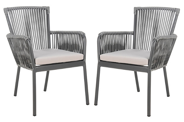 Safavieh Paolo Stackable Rope Chair (Set of 2), , large