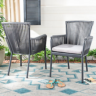 Safavieh Paolo Stackable Rope Chair (Set of 2), , rollover