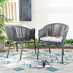 Safavieh Stefano Stackable Rope Chair (Set of 2), , rollover