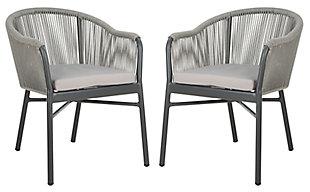 Safavieh Nicolo Rope Chair (Set of 2), , large
