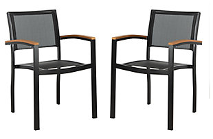 Safavieh Kaelan Stackable Chair (Set of 2), , large