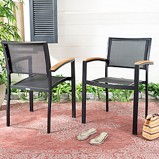 Safavieh Kaelan Stackable Chair (Set of 2), , rollover