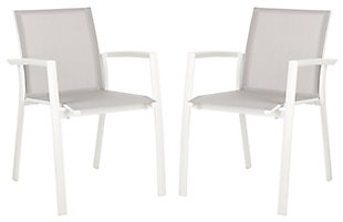 Safavieh Negan Stackable Chair (Set of 2), , large