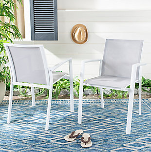 Safavieh Negan Stackable Chair (Set of 2), , rollover