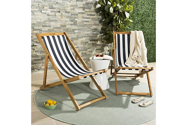 Safavieh Loren Foldable Sling Chair (Set of 2), , large