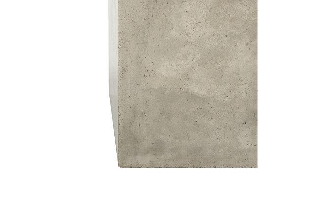 Safavieh Tallen Indoor/Outdoor Modern Concrete Coffee Table, , large