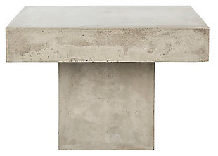 Safavieh Tallen Indoor/Outdoor Modern Concrete Coffee Table, , large