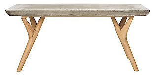 Safavieh Pacey Indoor/Outdoor Modern Concrete Coffee Table, , large