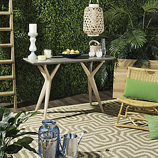 Safavieh Ragna Indoor/Outdoor Modern Concrete Console, , large