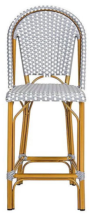 Safavieh Gresley Indoor/Outdoor French Bistro Counter Stool, , large