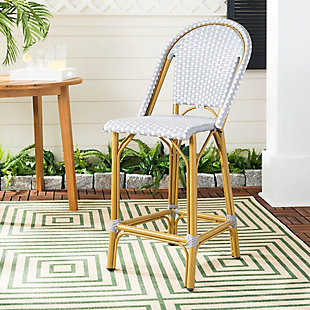 Safavieh Gresley Indoor/Outdoor French Bistro Counter Stool, , rollover