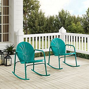 Crosley Griffith 2-Piece Rocking Chair Set, , rollover