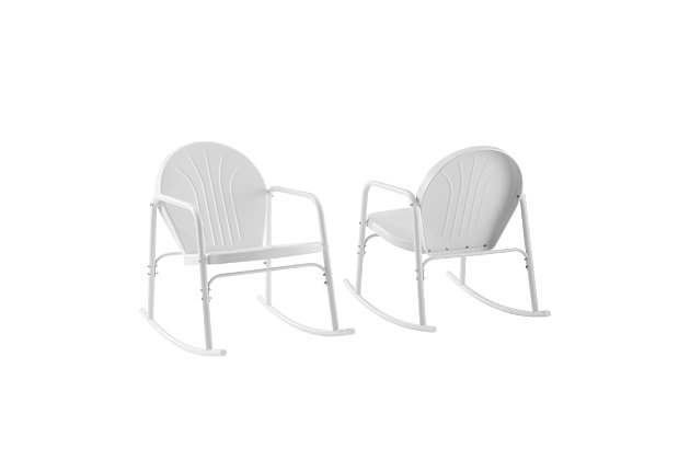 Crosley Griffith 2-Piece Rocking Chair Set, , large