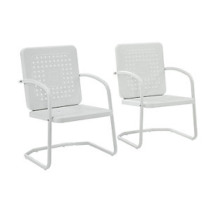 Crosley Bates 2-Piece Chair Set, , large