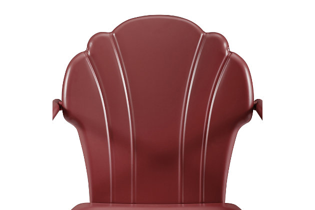 Crosley Tulip 2-piece Chair Set, Red, large