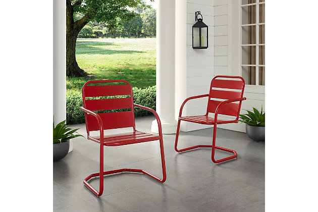 Crosley Brighton 2-Piece Chair Set, , large
