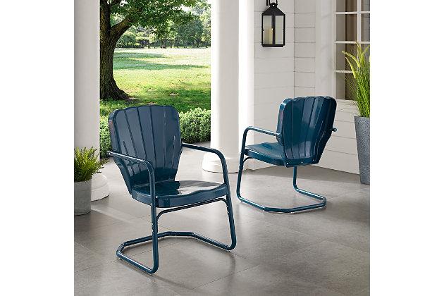 Crosley Ridgeland 2-Piece Chair Set, , large