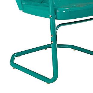 Crosley Ridgeland 2-Piece Chair Set, Blue, large