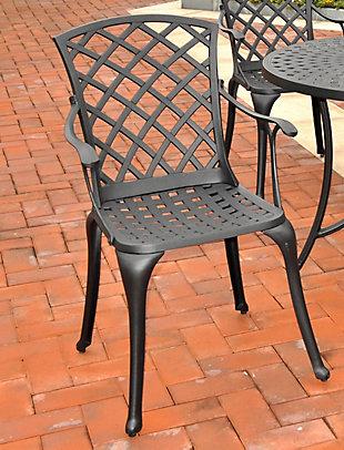 Crosley Sedona 2-Piece High Back Arm Chair Set, , rollover
