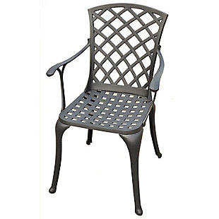 Crosley Sedona 2-Piece High Back Arm Chair Set, , large