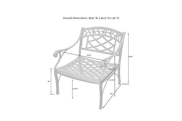 Crosley Sedona Club Chair, , large