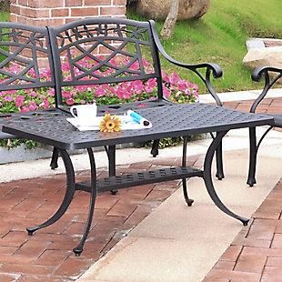 Crosley Sedona Rectangular Coffee Table, , rollover