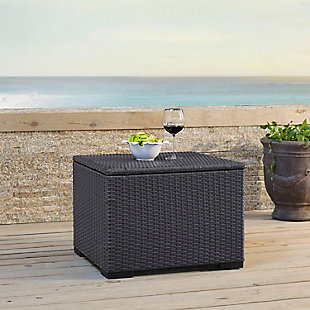 Crosley Biscayne Outdoor Wicker Coffee Table, , rollover