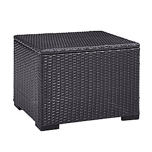 Crosley Biscayne Outdoor Wicker Coffee Table, , large